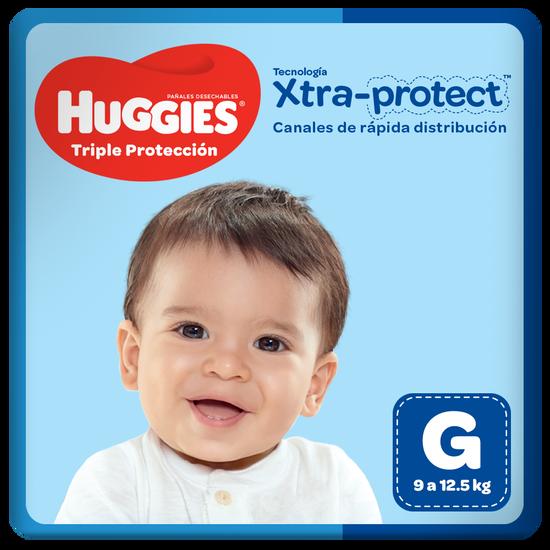 Pañales Huggies Triple Protección Talla G