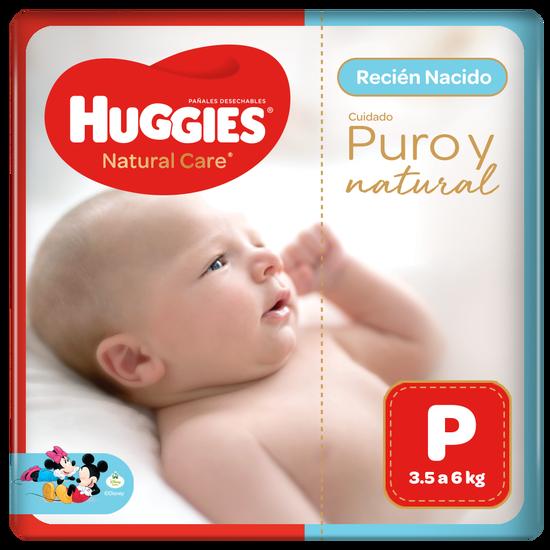 Pañal Huggies Natural Care Talla P
