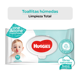Toallitas Húmedas Huggies One & Done
