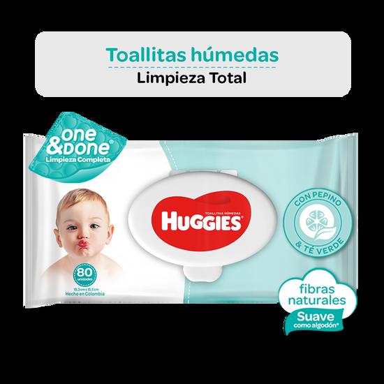 Toallitas Húmedas Huggies One & Done