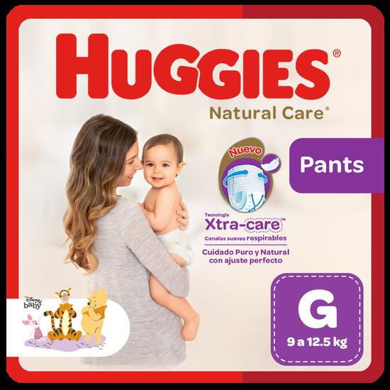 Pañal Huggies Natural Care, Tipo Calzoncito Talla G