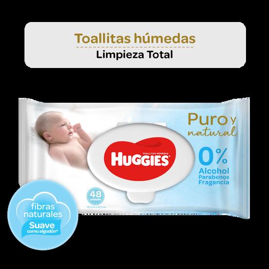 Toallitas Húmedas Huggies Puro y Natural