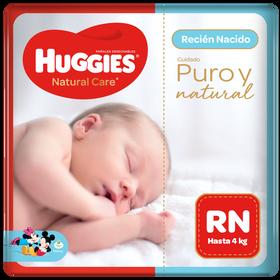 Pañal Huggies Natural Recien Nacido