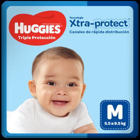 Pañales Huggies Triple Protección Talla M