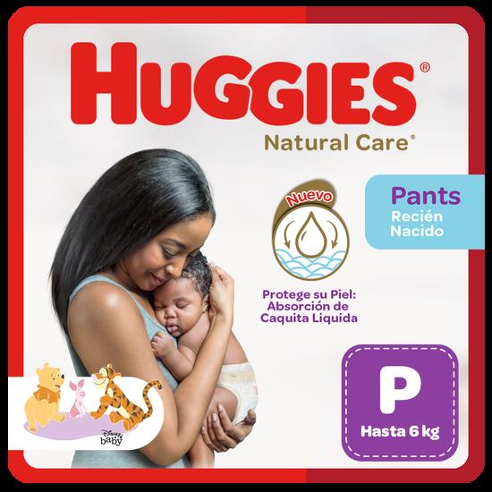 Pañal Huggies Natural Care, Tipo Calzoncito Talla P